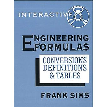 Engineering Formulas Interactive: Conversions, Definitions, and Tables