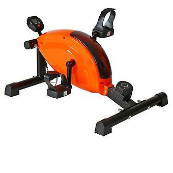 Mini vélo d'appartement appareil fitness sport musculation avec écran et podomètre 0701068