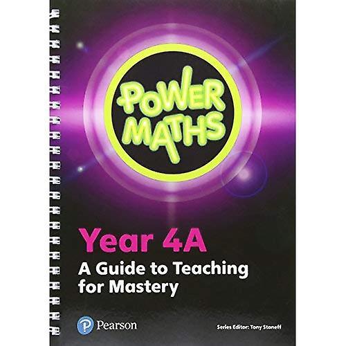 Power Maths Year 4 Teacher Guide 4A (Power Maths Print)