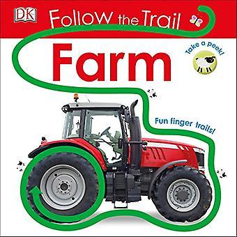 Følg stien: gård (følge sporet) [Board bog]