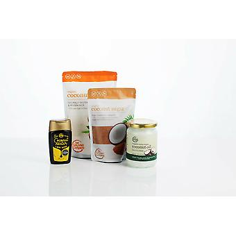 Coconut Baking Gift Set - includes Coconut Oil