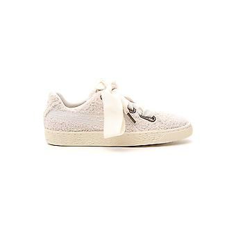 PUMA weisse Wolle Sneakers