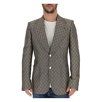 Chaqueta de algodón Gucci Beige/marrón