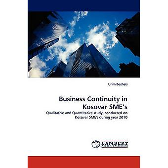 Business Continuity in Kosovar SMEs by Bexheti & Urim
