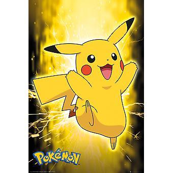 Pokemon Pikachu Neon Maxi Poster 61x91.5cm