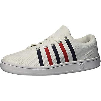 K-Swiss Womens Classic88 Fabric Low Top Lace Up Fashion Sneakers