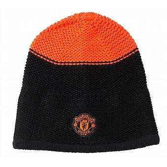 2015-2016 man Utd Adidas Beanie Hat (sort)
