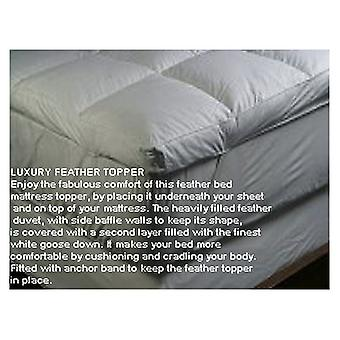 Luxury Goose Feather & Down Mattress Enhancer