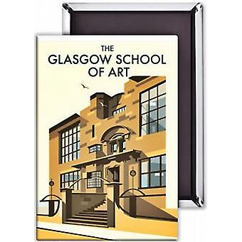 Imán de nevera acero de Glasgow School Of Art (se)