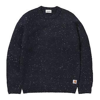 Carhartt WIP Anglistic Sweater  Dark  Heather