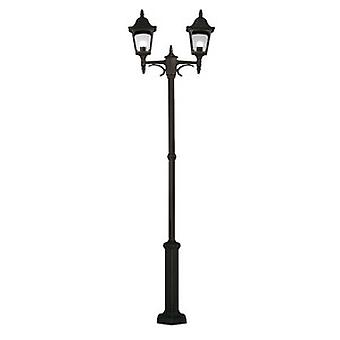 Traditional Outdoor Twin Lamp-post with 10 Year Anti-corrosion