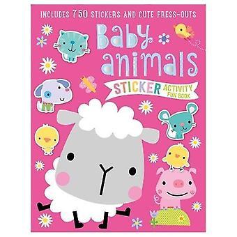 Baby Animals Sticker Activity Book by Dawn Machell - 9781786929594 Bo