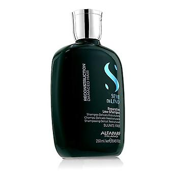 AlfaParf Semi Di Lino Reconstruction Reparative Low Shampoo (Damaged Hair) 250ml/8.45oz