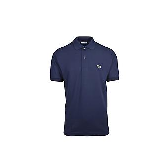 Lacoste Basic logo pique camisa polo regular Fit Navy