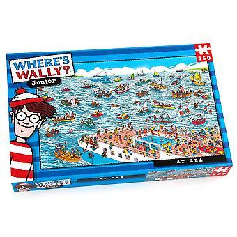 Paul Lamond Where's Wally? At Sea 250 Piece Jigsaw Puzzle
