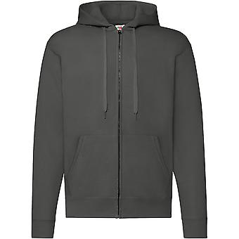 Fruit Of The Loom - Classic 80/20 Hooded Sweatshirt Mens Jacket
