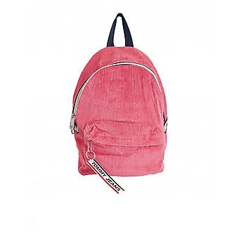 Tommy Hilfiger Accessories Tape Logo Mini Corduroy Backpack