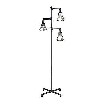 Magnificent mile 3-light floor lamp