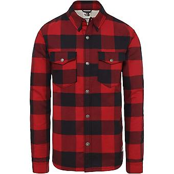 North Face Campshire Shirt - Red Plaid