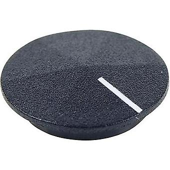 Cover + hand Black, White Suitable for K12 rotary knob Cliff CL177801 1 pc(s)