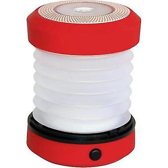 LED Camping light Eufab LED CAMPINGLATERNE battery-powered 160 g Red 13497
