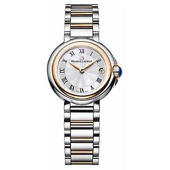 Maurice Lacroix Fiaba 26mm Womens Two Tone Silver Dial FA1003-PVP13-110-1 Watch