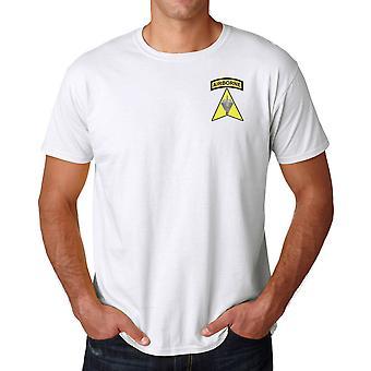 Fuerzas especiales de ejército filipino SFRA aire bordado Logo - camisa de algodón Ringspun T