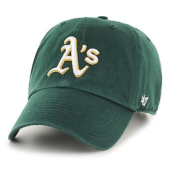 47 fire relaxed fit Cap - MLB Oakland Athletics dark green