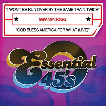 沼のスヌープドッグ - 私は 2 回同じ電車が実行されません/神・ ブレス アメリカ インポート