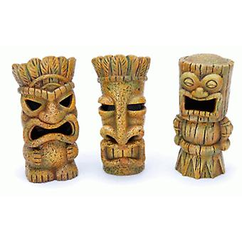 Sandimas Tiki Sculptures (10 Cm.) (Fish , Decoration , Ornaments)