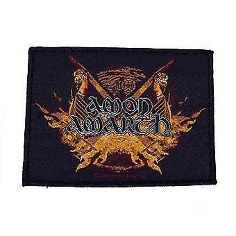 Amon Amarth Viking Orda tessuto Patch
