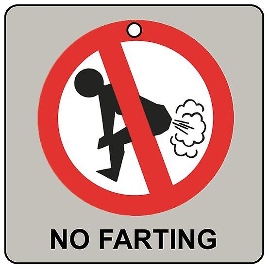 No Farting Car Air Freshener