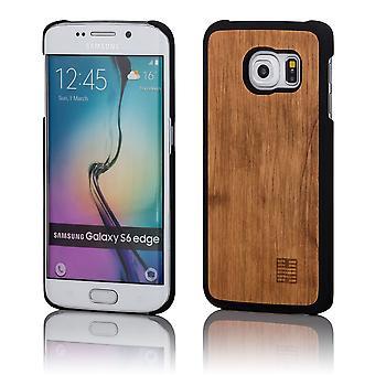 32. aus Holz zurück Fall für Samsung Galaxy S6 Edge (SM-G925) - Birne
