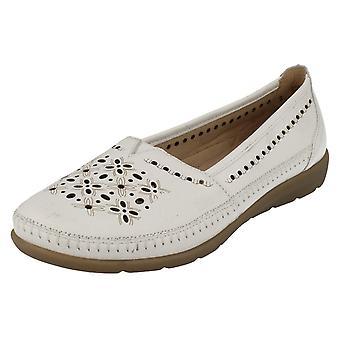 Damas Casual retan resbalón encendido zapatos D1907