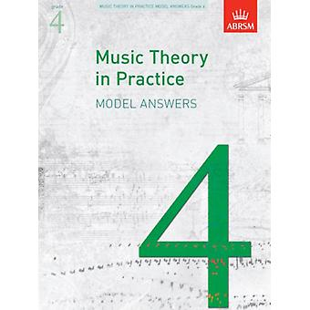 Music Theory in Practice Model Answers Grade 4 (Music Theory in Practice (ABRSM)) (Sheet music) by Abrsm