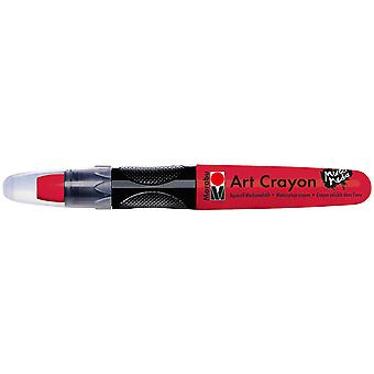 Marabu Creative Art Crayons-Cherry Red 1409003-031