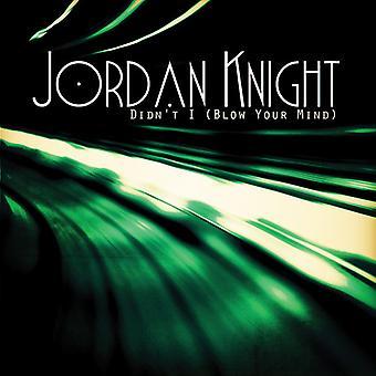 Jordan Knight - n'a pas (Blow Your Mind) [CD] USA importer