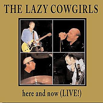 Lazy Cowgirls - Here & Now (Live) [CD] USA import