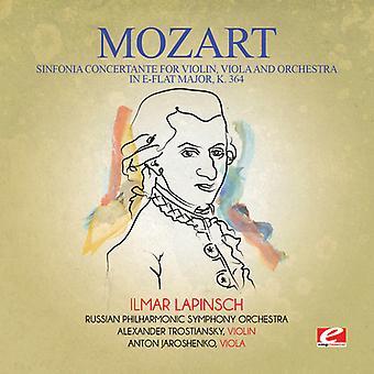 Mozart - Sinfonía Concertante para importación de USA de violín Viola y orquesta [CD]