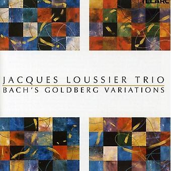 Jacques Loussier Trio - Bach's Goldberg Variations [CD] USA import