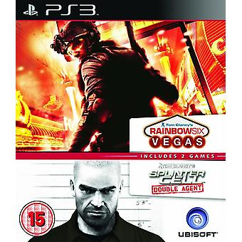Ubisoft Double Pack - Rainbow Six Vegas et Splinter Cell Double Agent PS3 jeu