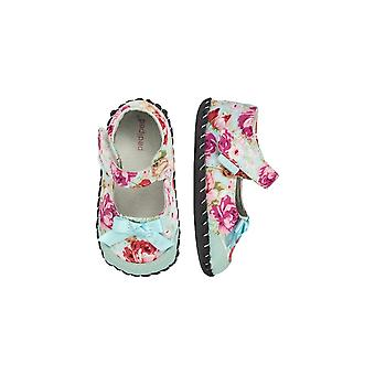 Pediped Girls First Steps Floral Mary Jane Shoes | Pediped Originals Louisa