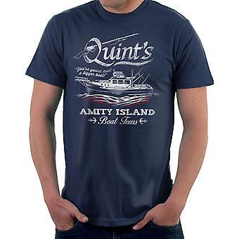 Camiseta quíntuples Amity Island Boat Tours mordazas hombres