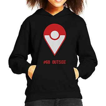 Pokemon Go Outside Kid's Hooded Sweatshirt