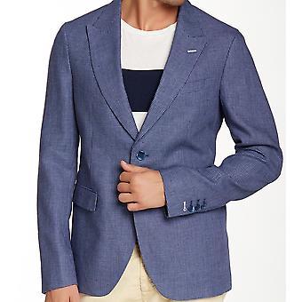 GANT Rugger Peak Lapel Mens Blazer / Jacket - Blue