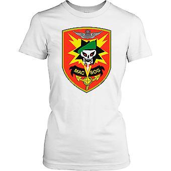 Ladies t-shirt DTG Print - MACV-SOG spesialstyrker merke-