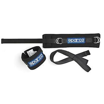 Sparco Competition Harness - Arm Restraint 00158SETNR Black Fits:UNIVERSAL  0 -