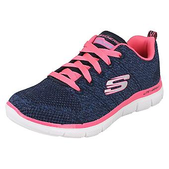 Girls Skechers Skech-Knit Trainers High Energy 81655