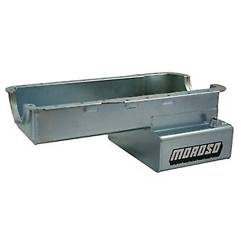 Moroso 20535 Steel Front Sump Road Race Oil Pan for Ford 302 Engine