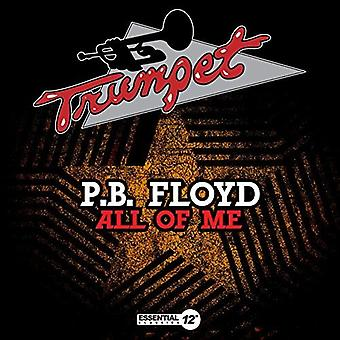 Importieren Sie P.B Floyd - All of Me [CD] USA